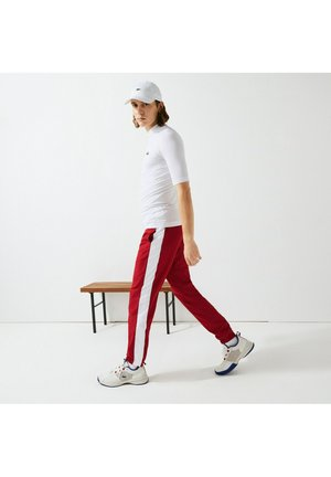 Tracksuit bottoms - rouge / blanc / bleu / blanc