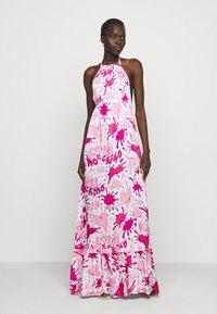 Love Moschino - Maxi dress - splash rosa - 0