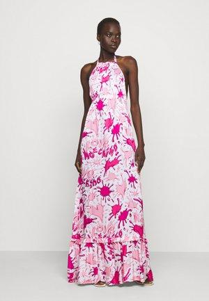 Maxi dress - splash rosa