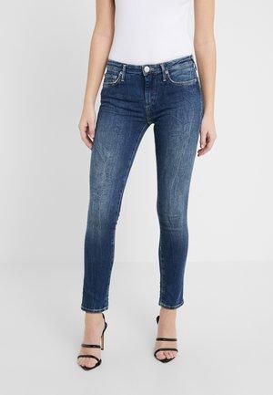 NEW HALLE - Skinny džíny - blue