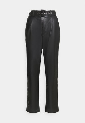 ONQNANNY HIGH WAIST PANT - Trousers - black