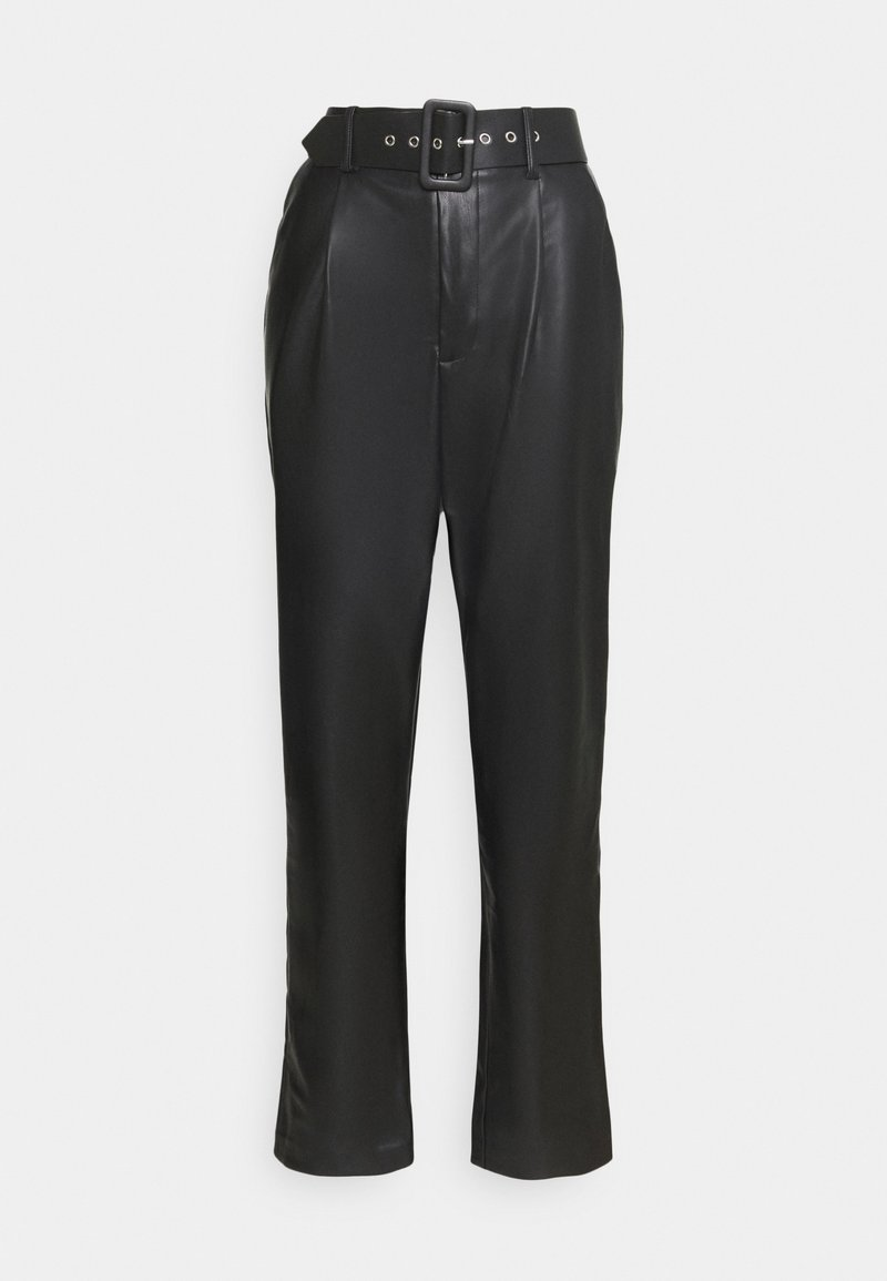 ONLY Tall - ONQNANNY HIGH WAIST PANT - Trousers - black