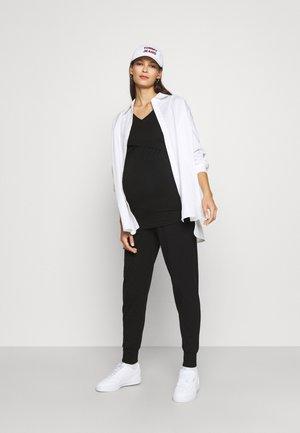 HADLEY 2 PACK - Pantalones - grey/black