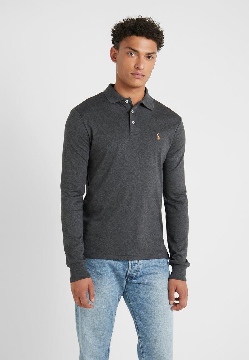 Polo Ralph Lauren - PIMA KNT - Polo shirt - dark grey heather