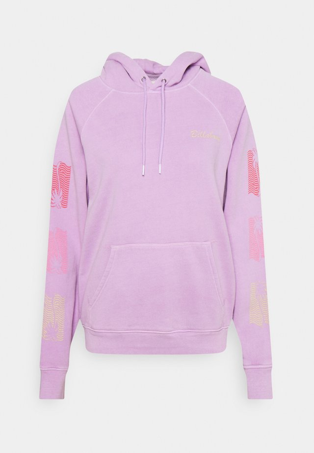 CATCHING WAVES - Sweater - lit up lilac