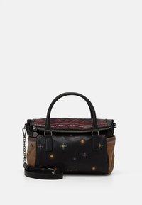 Desigual - BOLS LULULOVE LOVERTY - Handbag - black - 0