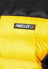 PARELLEX - HYPER JACKET - Light jacket - black/ mustard - 6