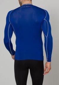 Under Armour - COMP - T-shirt de sport - blau/grau - 3