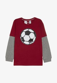Carter's - KIDS FLIP SEQUIN TEE - Langærmede T-shirts - red - 2