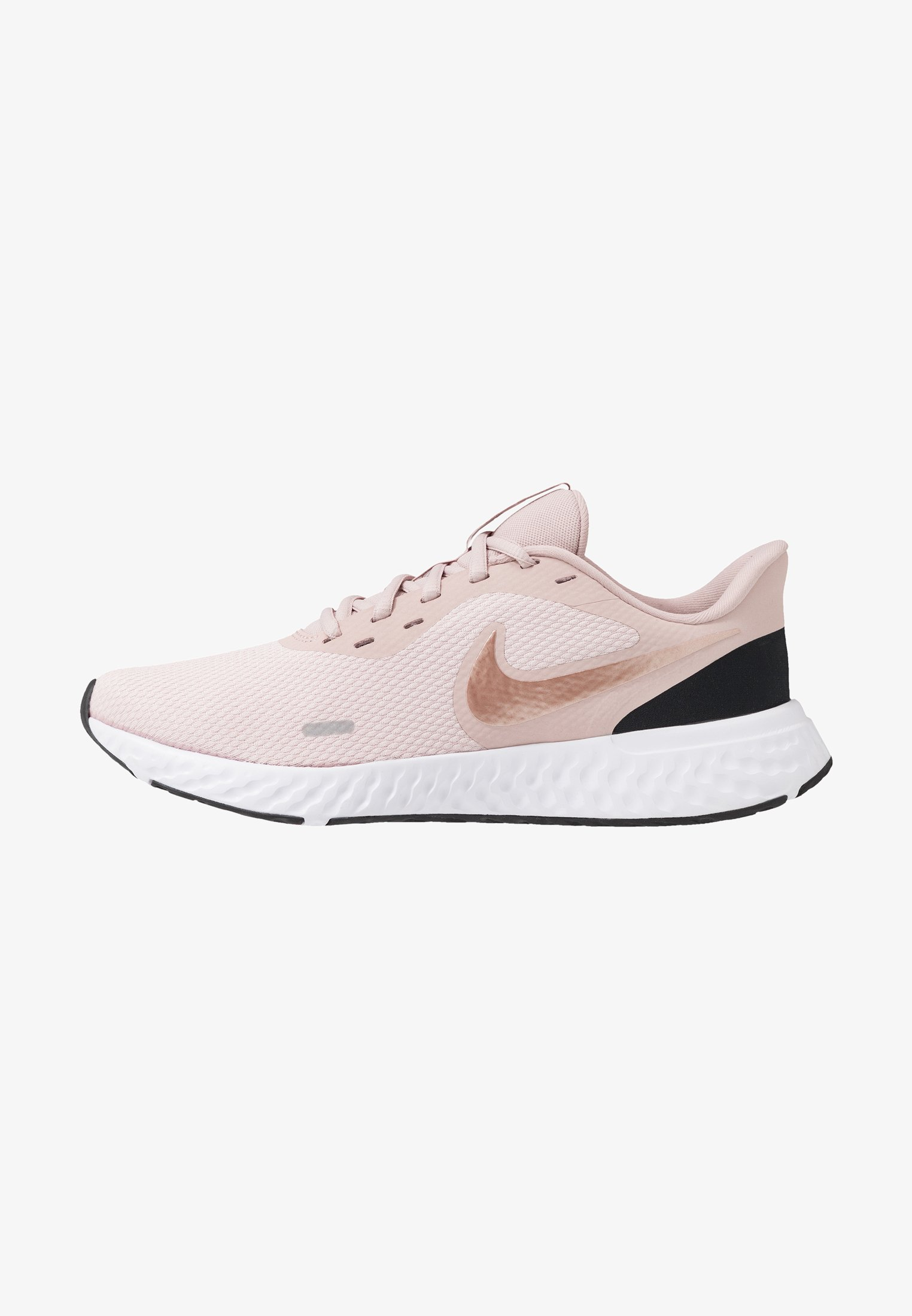 Destino desconectado Discriminación  Nike Performance REVOLUTION 5 - Neutral running shoes - barely  rose/metallic red bronze/stone mauve/light pink - Zalando.co.uk