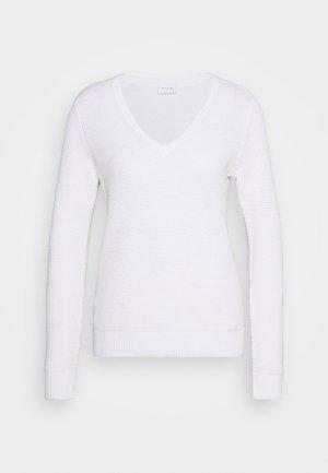 VICHASSA VNECK - Pullover - pristine