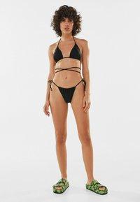 Bershka - Bikini top - black - 1