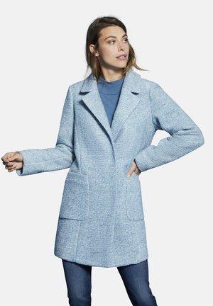 MIT WOLL-ANTEIL - Classic coat - hellblau