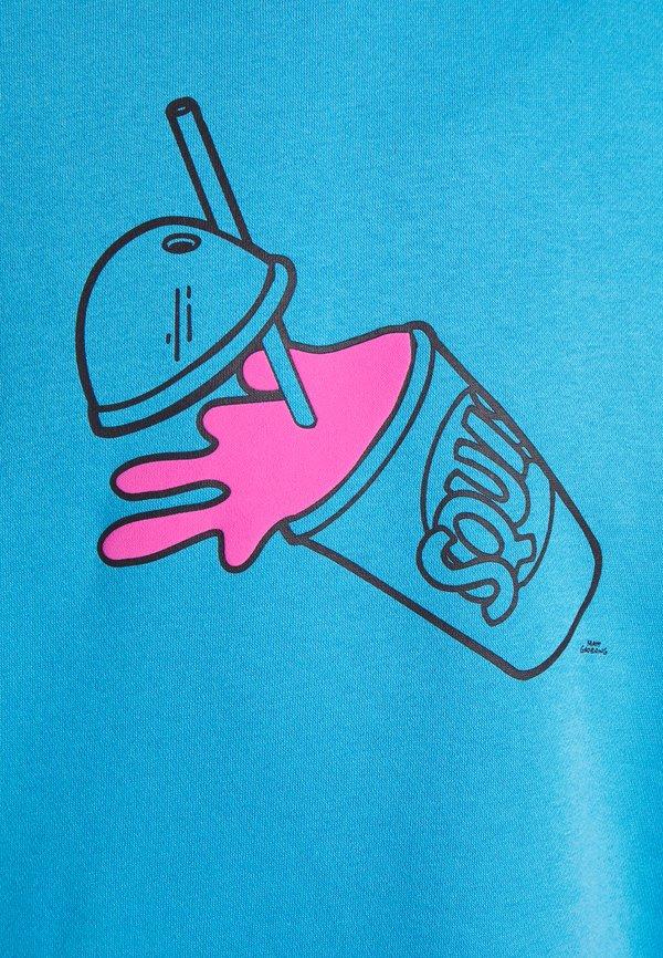 adidas Originals THE SIMPSONS SQUISHEE HOODIE - Bluza z kapturem - fresh splash/niebieski Odzież Męska YNYS