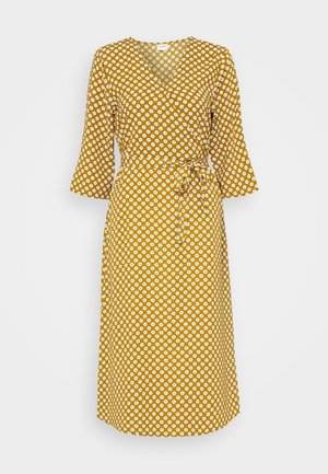 JDYLION WRAP DRESS - Day dress - golden brown