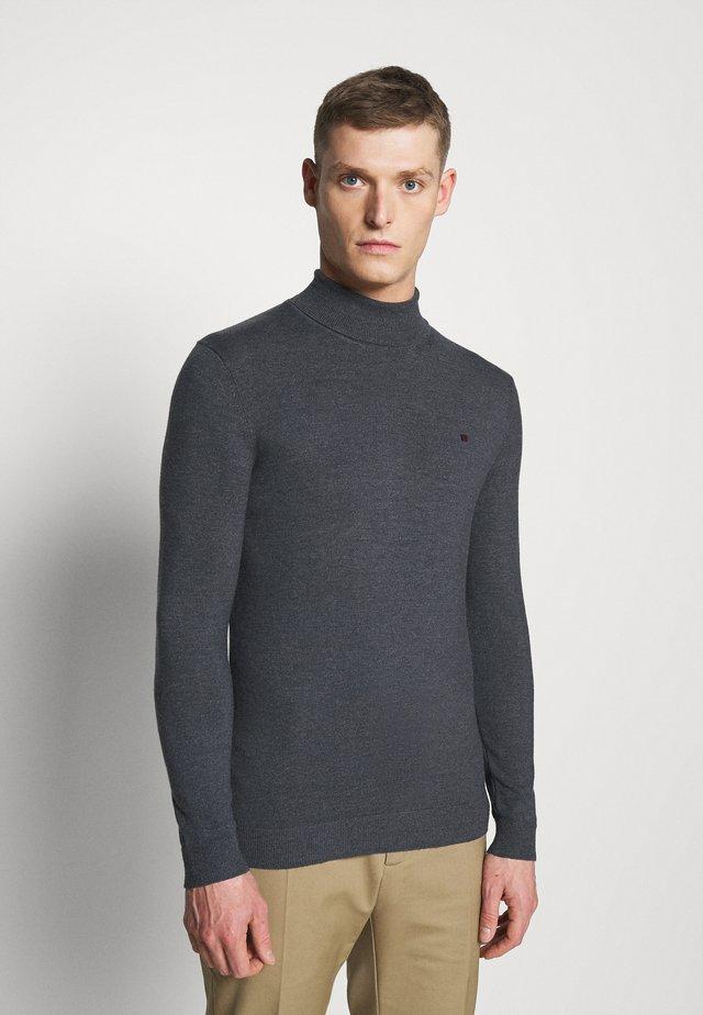 LOKI - Stickad tröja - anthracite chine
