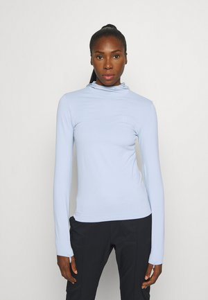 COMET SEAMLESS HOODIE - Long sleeved top - kentucky blue/artic ice