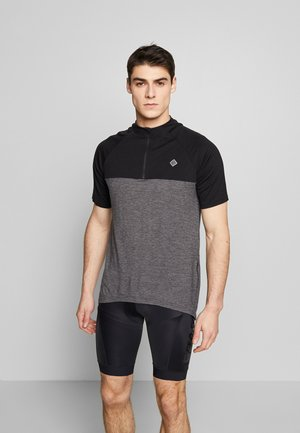 SWET NUL MEN - T-shirt z nadrukiem - anthracite