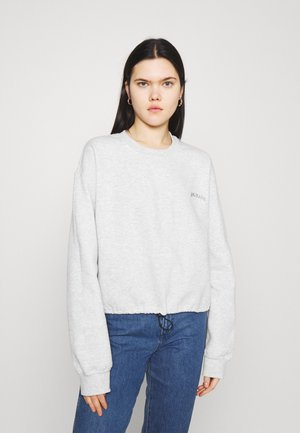 BUBBLE HEM - Sweatshirt - light grey
