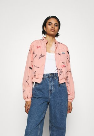 TRACK TOP - Training jacket - trace pink