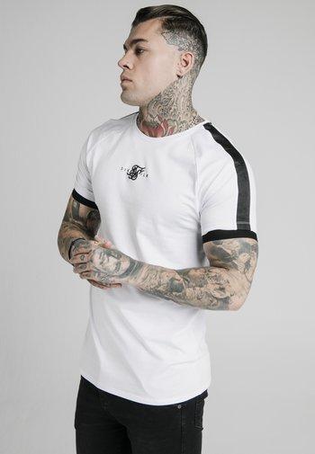 RAGLAN TAPE GYM  - Print T-shirt - white
