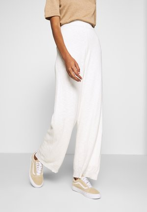 TALIA LN - Trousers - chalk
