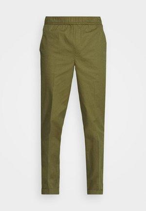 MUNK - Trousers - dark olive