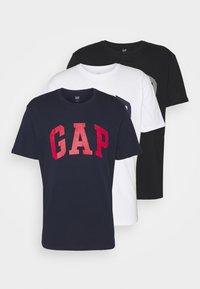 GAP - BASIC ARCH 3 PACK - T-shirt med print - multi - 7