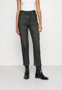 Wrangler - WILD WEST - Straight leg jeans - black magic - 0