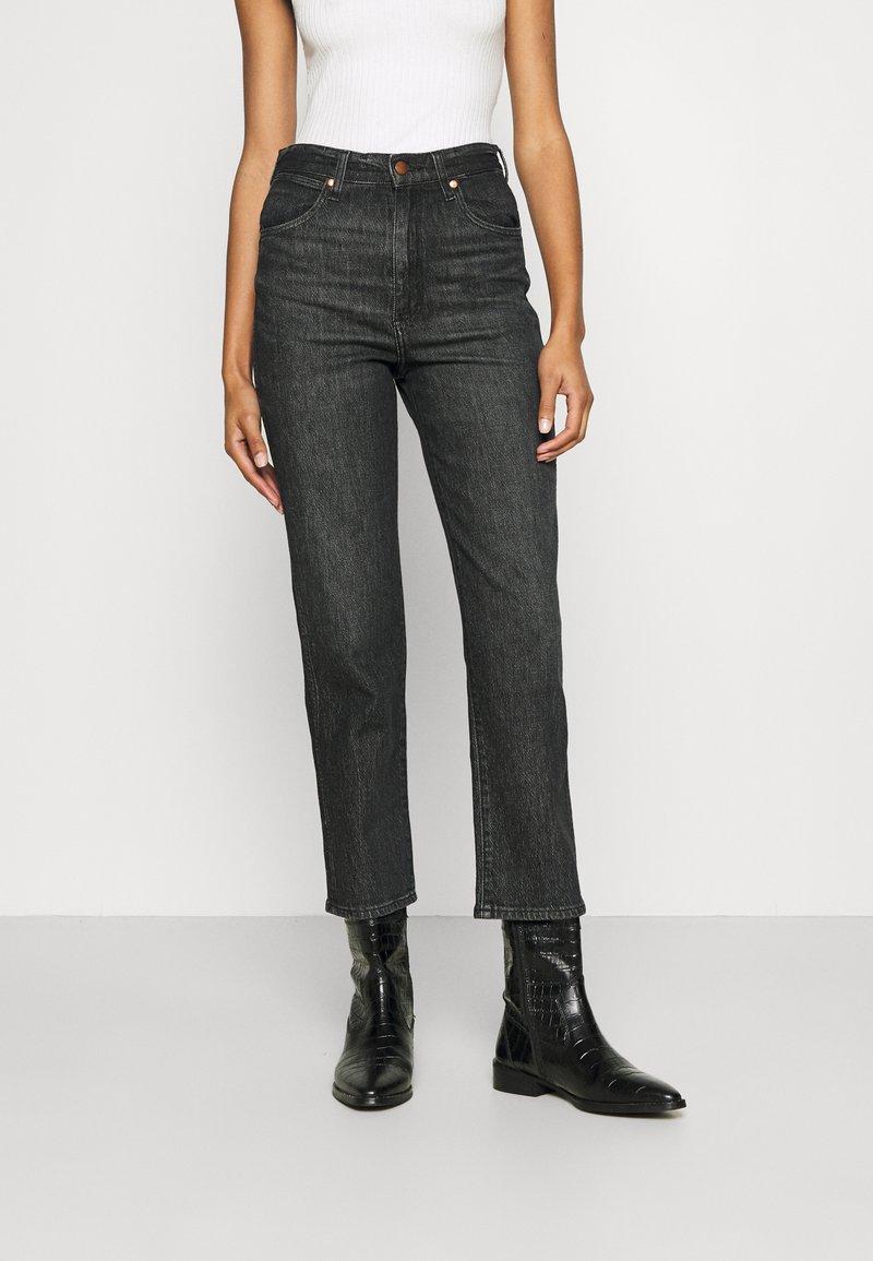 Wrangler - WILD WEST - Straight leg jeans - black magic