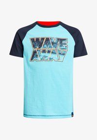 WE Fashion - T-shirt con stampa - blue - 3