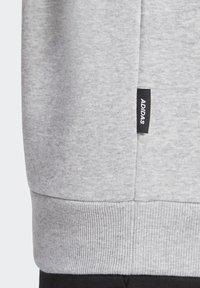 adidas Performance - BADGE OF SPORT FLEECE SWEATSHIRT - Sweatshirt - grey - 8