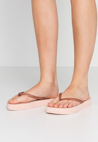 Havaianas - SLIM FLATFORM - Pool shoes - ballet rose - 0