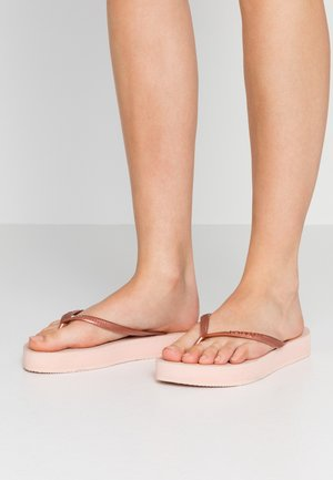 SLIM FLATFORM - Pool shoes - ballet rose