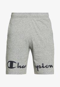 Champion - BIG LOGO BERMUDA - Pantalón corto de deporte - grey - 4