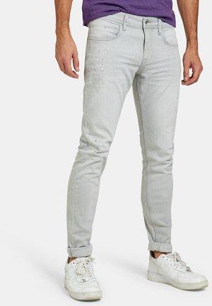 LEROY SKINNY ALEN L32 - Skinny džíny - grey