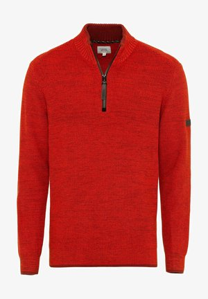 TROYER - Jumper - orange red