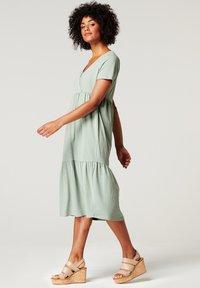 Esprit Maternity - Sukienka z dżerseju - grey moss - 1