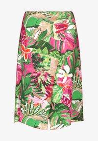 Gerry Weber - Wrap skirt - lila pink grün druck - 3