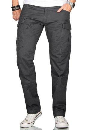 Cargo trousers - anthrazit
