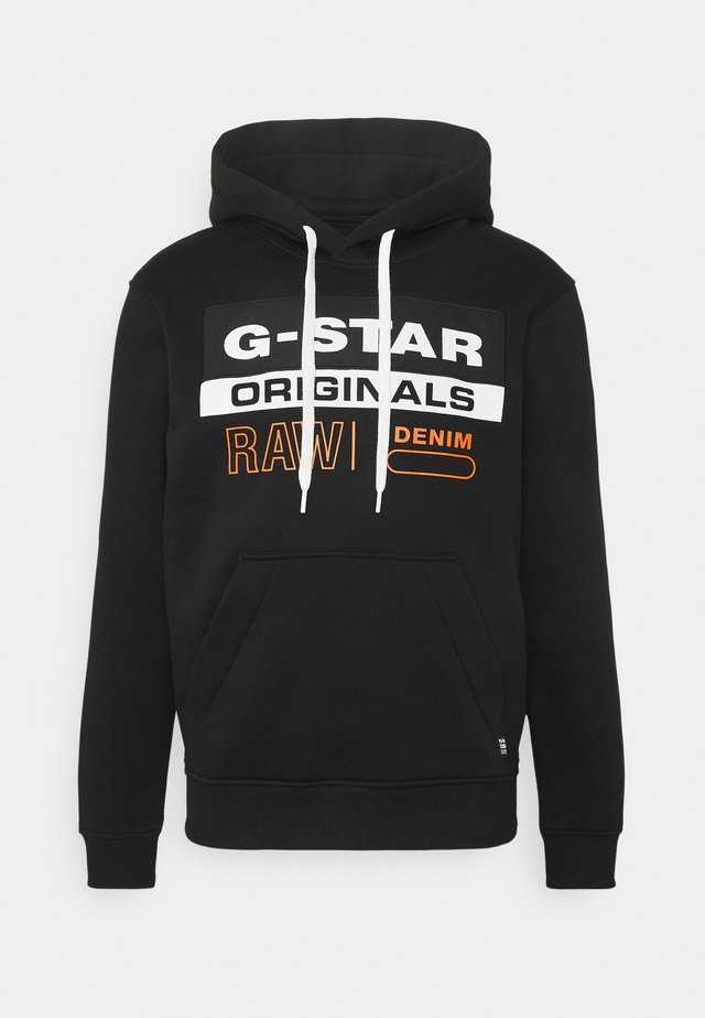 COLOR BLOCK ORIGINALS LOGO  - Sweatshirt - black