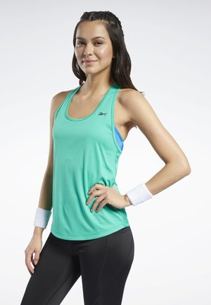 MESH BACK TANK TOP - Top - green