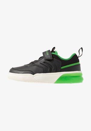 GRAYJAY BOY - Sneakers - black/green