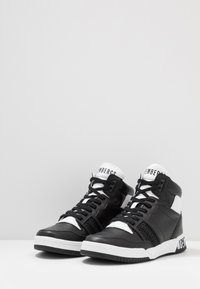Bikkembergs - SIGGER - High-top trainers - black/white - 2