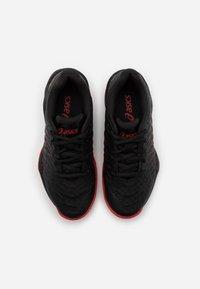 ASICS - BLAST  - Handball shoes - black/classic red - 3