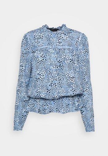 STAR FRILL PEPLUM - Bluser - blue