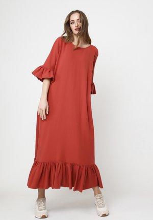 DONATELLO - Maxi dress - terrakotta
