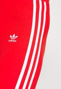 adidas Originals - STRIPES COMPRESSION - Leggings - Trousers - red - 5