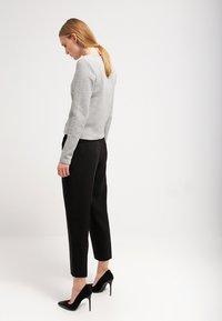 Vila - VINAJA NEW SHORT JACKET - Summer jacket - light grey melange - 2