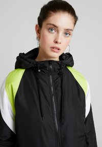 TWINTIP - Sportovní bunda - black/turquoise - 4
